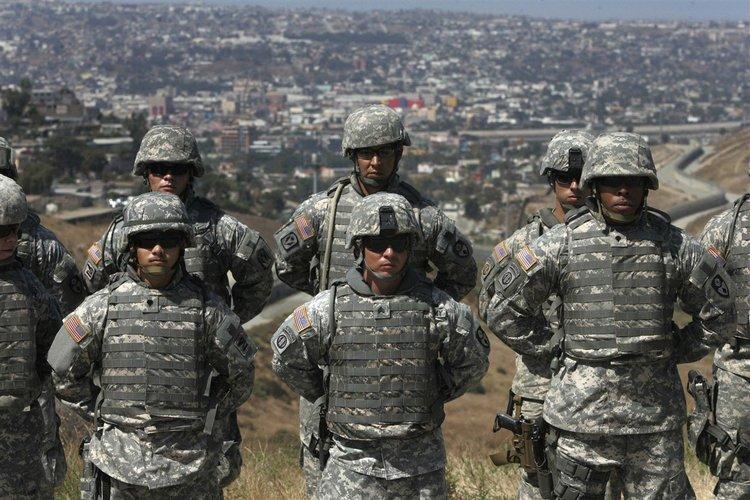 Губернаторът на Калифорния изтегля националната гвардия от границата с Мексико