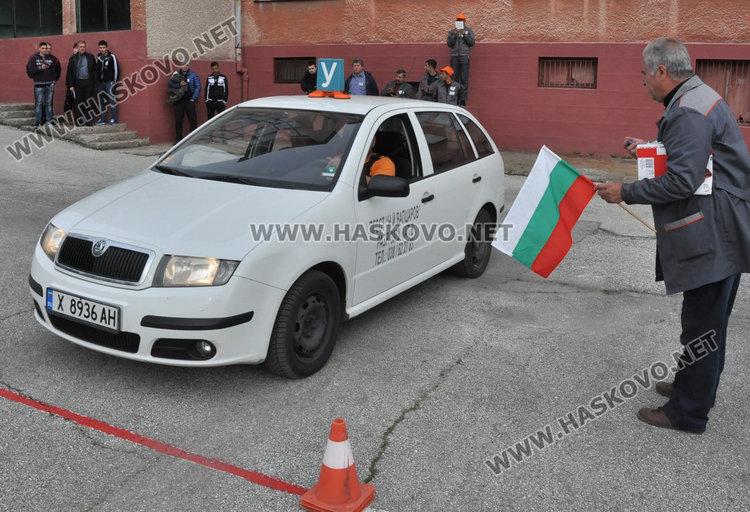 Хасковлии: изпитът на полигон ще подобри пътната безопасност