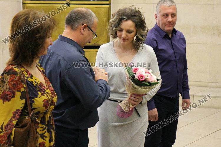 В деня на влюбените и виното, две нови семейства венча кметът на Димитровгрд