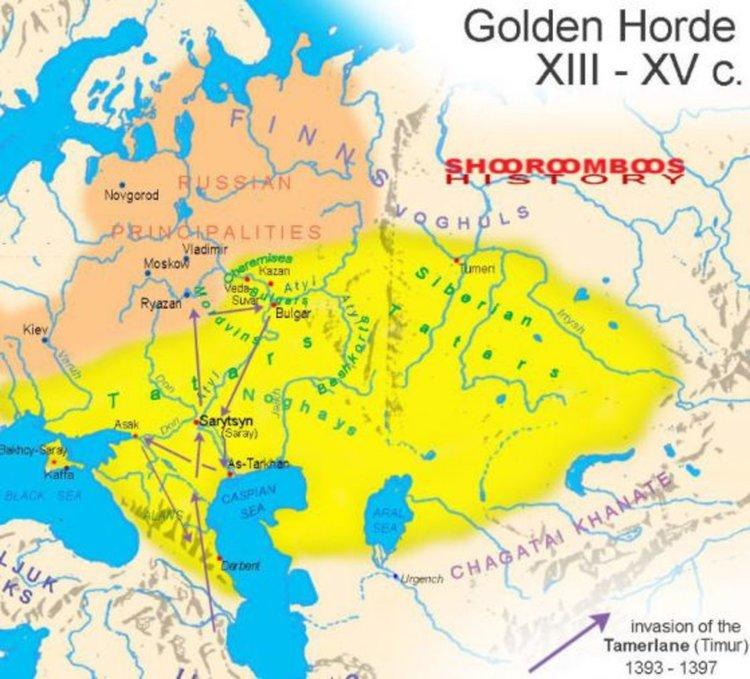 Археологически открития в Болгар, някога столица на Волжка България