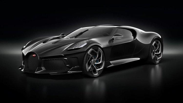 Bugatti's La Voiture Noire - най-скъпата кола в историята. Вече е продадена