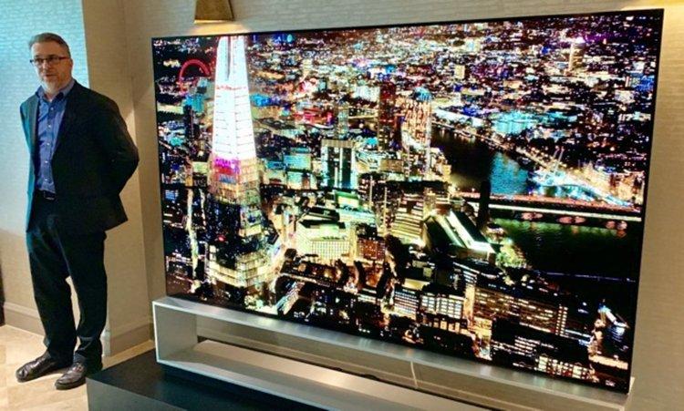 Размерът на телевизорите расте с 1 инч на година