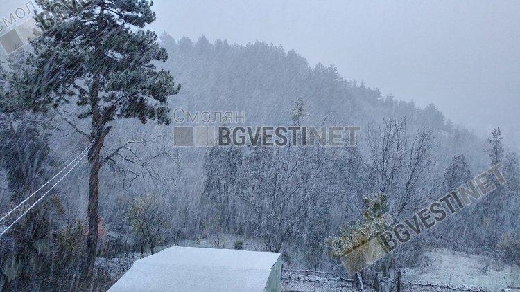 Истинска зима и жълт код за опасно време на 12 март в Смолянско