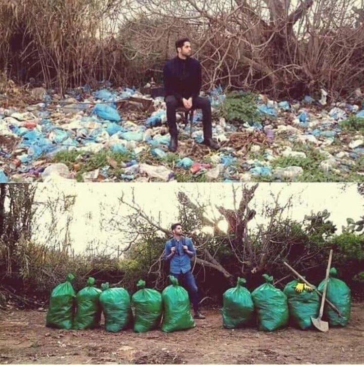 Предизвикателство провокира почистването на замърсени зони