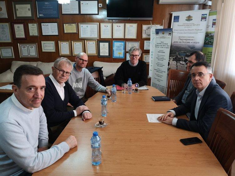 Кметът на Кърджали се срещна с инвеститори от Дания