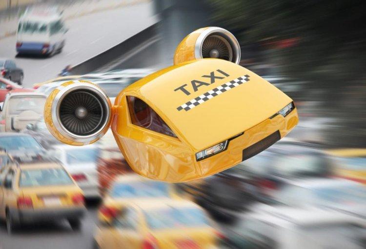 Летящи таксита ще ни возят високо над трафика до 2025 г.