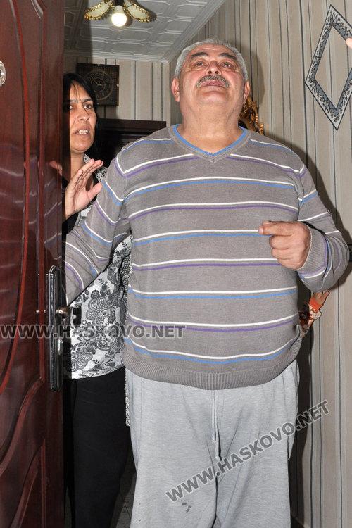 Асен Стоянов и съпругата му