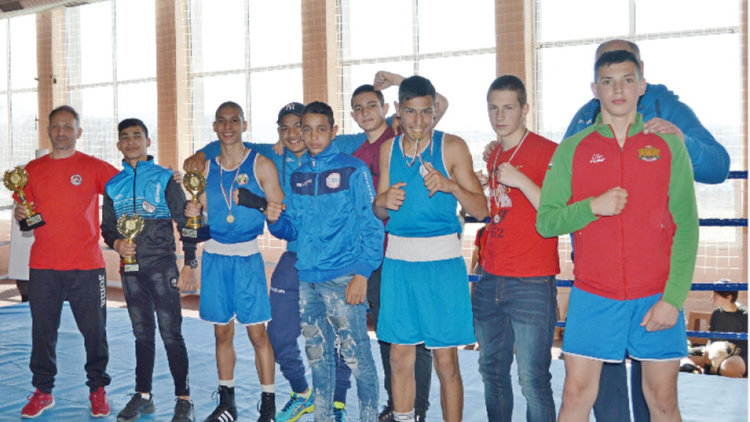 Сторм-София стана отборен победител на завършилото в Кърджали двойно състезание по бокс