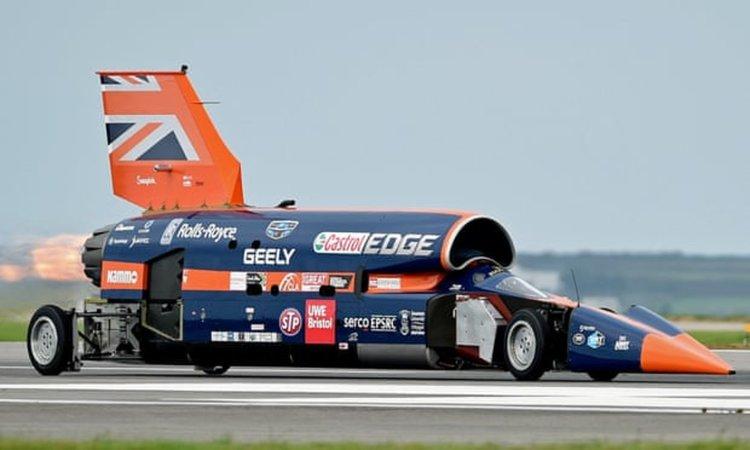 Британци ще правят автомобил с максимална скорост 1 000 мили в час