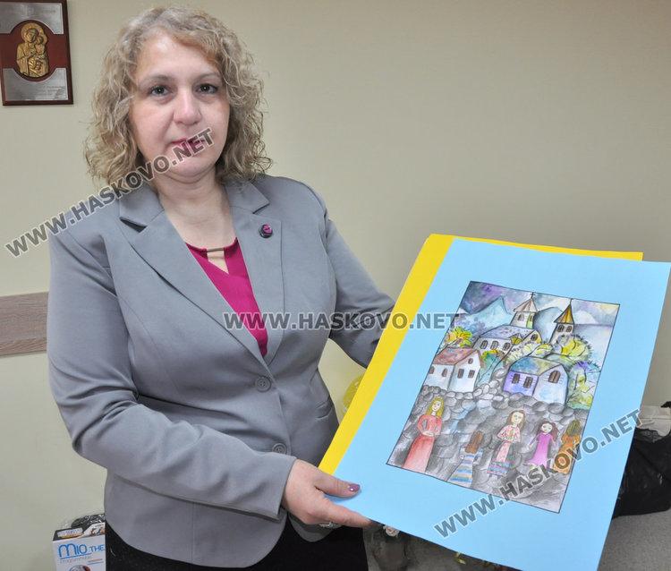 Директорката Анна Йорданова
