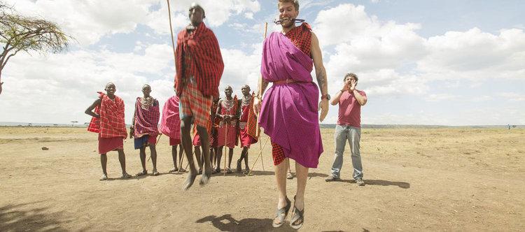 """""""Племенен тренировъчен лагер"""" - пътуване и... фитнес по Viasat Explore"""