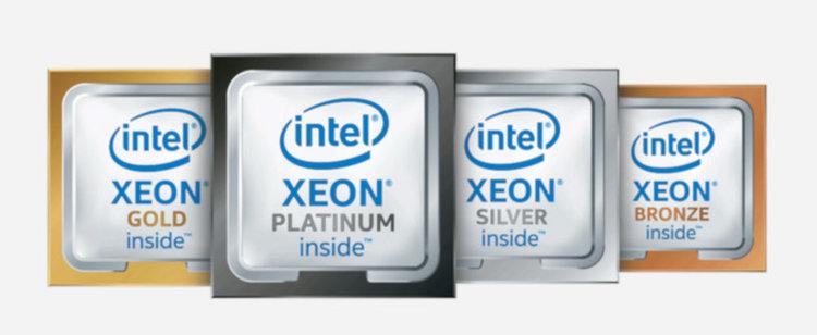 Процесорите Xeon Scalable съдържат до 48 изчислителни ядра (източник: Intel)