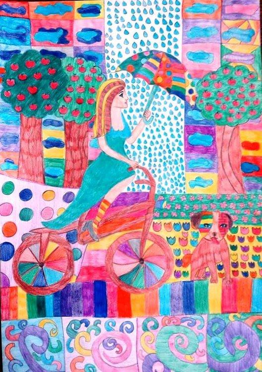 Мерве и Синем от Ардино с награди от Национален конкурс за детска рисунка