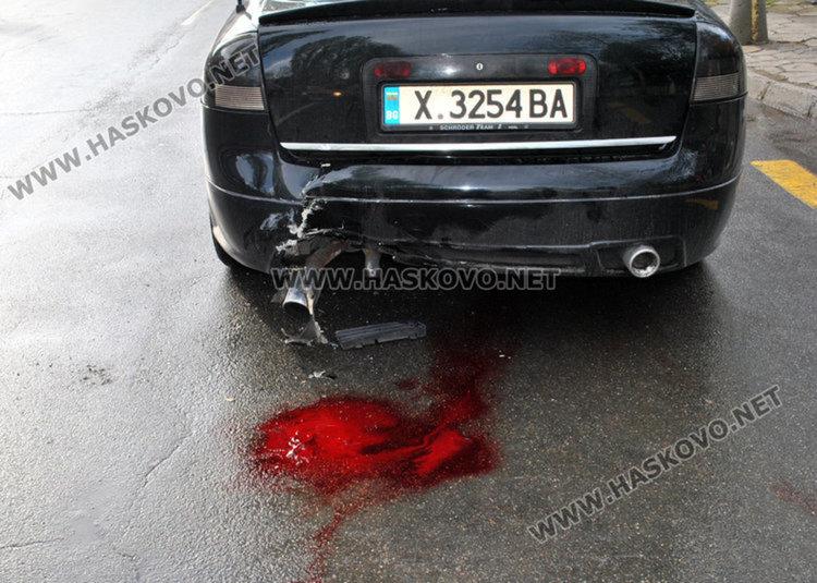 35-годишна блъснала мъжа до Младежкия център в Хасково