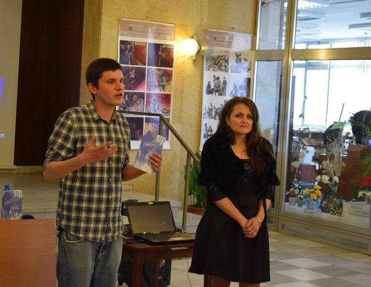 Внукът на Радичков представи в Асеновград книга и филм за големия ни писател