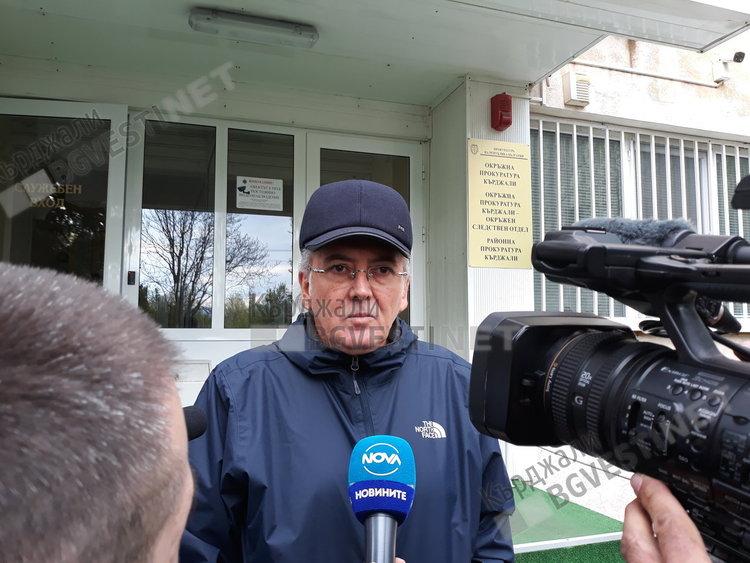Лютви Местан пред Прокуратурата