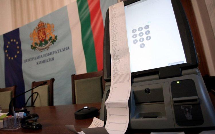 В 15 секции в Хасковска община без машинно гласуване за евродепутати