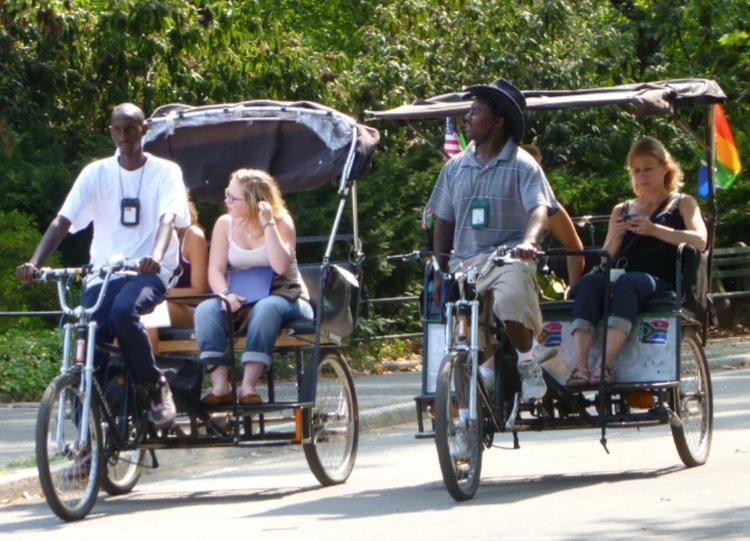 традиционна рикша