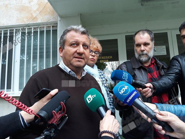 Окръжният прокурор Желязко Стефанов