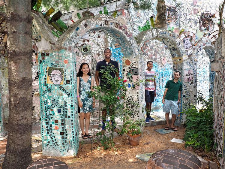 Магическите градини на Филаделфия