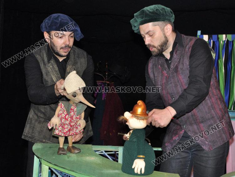"""""""Пинокио"""" представя Хасковския театър на куклено-театрален фестивал в Ямбол"""