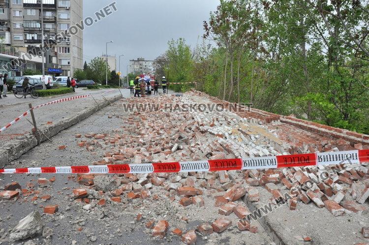 """57- годишен мъж от кв """"Рупублика"""" е загиналият под оградата на казармата в Хасково"""