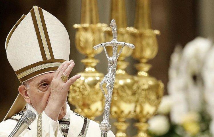 Папа Франциск призова вярващите да отхвърлят блясъка на богатството