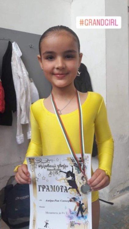 """Танцьорите на """"Гранд"""" с призови места в Международен турнир и в Държавното"""