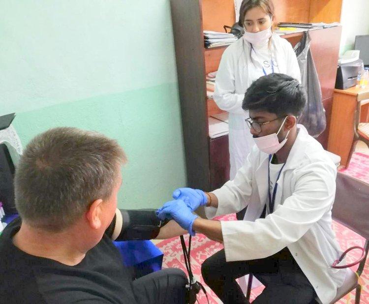 Студенти по медицина с мисия в Община Златоград, прегледаха над 100 души