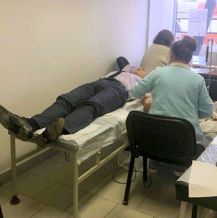 5 литра кръв бе резултата от кампанията на MГЕРБ за кръводаряване