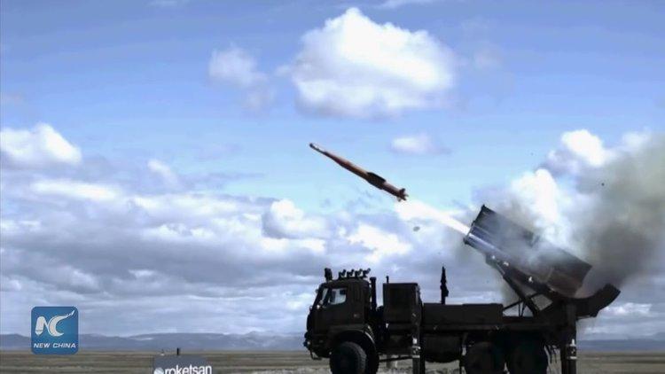 Турция тества собствен зенитно-ракетен комплекс с малък и среден обсег