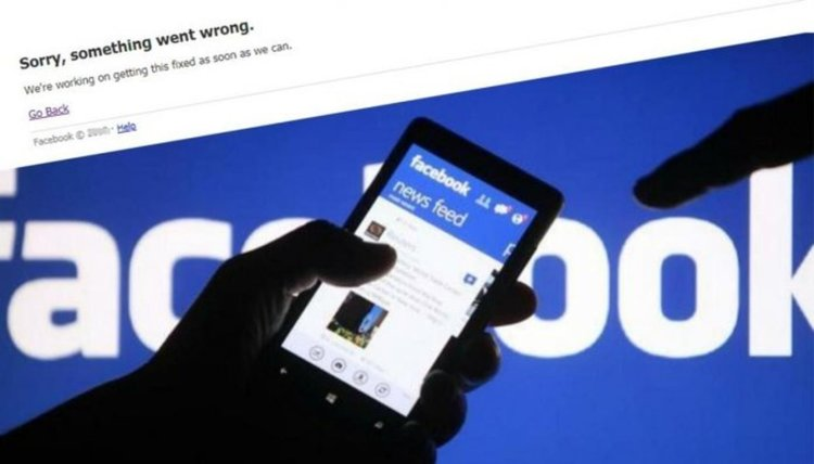 Фейсбук се срина отново