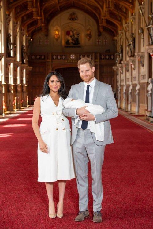 Меган и Хари показаха бебето си на света