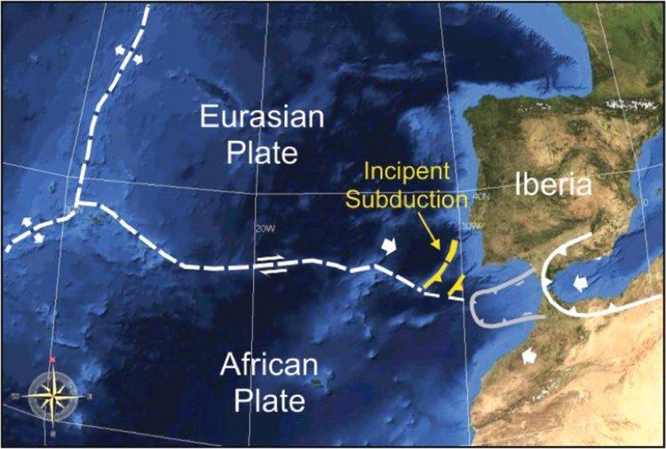 Учени установиха аномални промени в тектониката край брега на Португалия