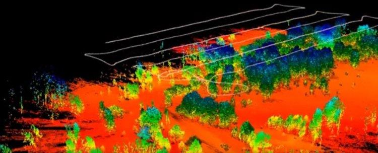 Първото изследване с дрон на Червената гора в Чернобил откри силно радиоактивни точки (видео)