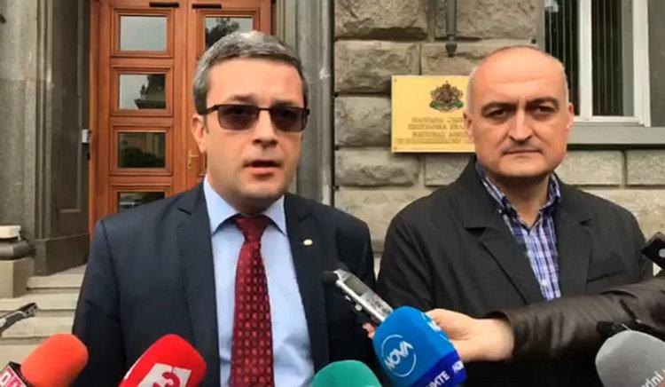 ГЕРБ внесе жалба в ЦИК срещу президента Румен Радев