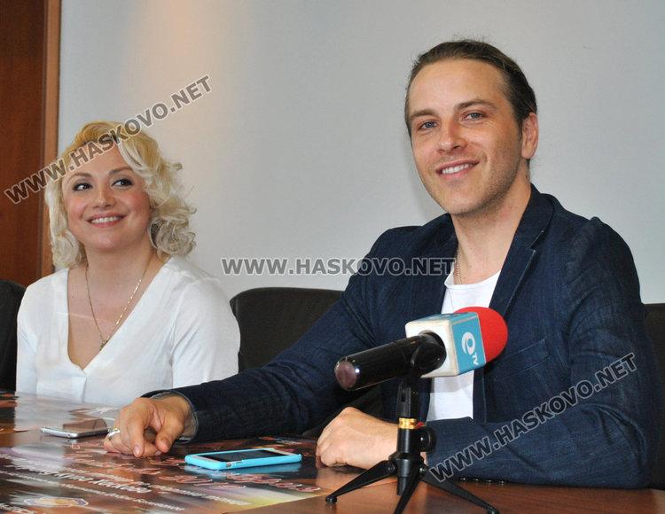 Павлина Вълчева и Николай Манолов