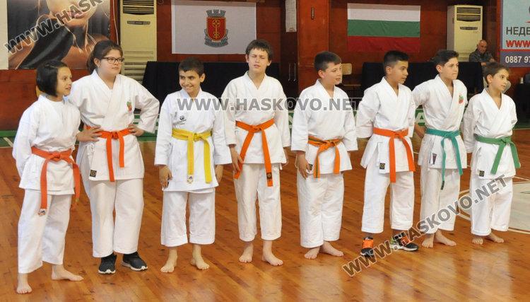 Спортистите на Хасково показаха уменията си за Деня на българския спорт