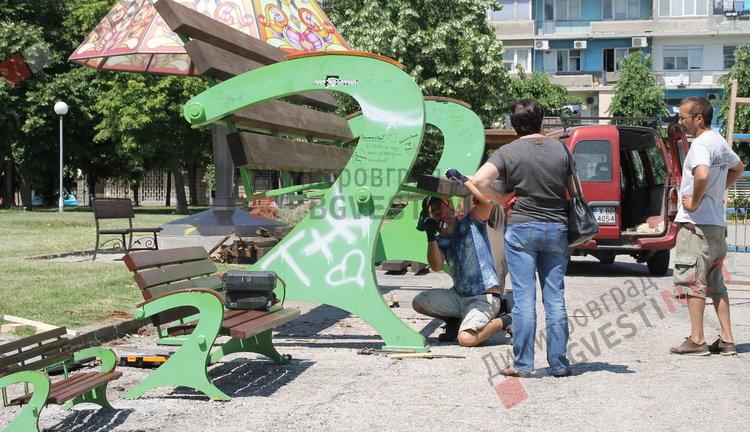 Ремонтират една от големите туристически атракции на Димитровград