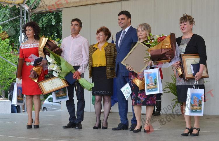 4 награди за заслужили учители връчиха на 24-ти май