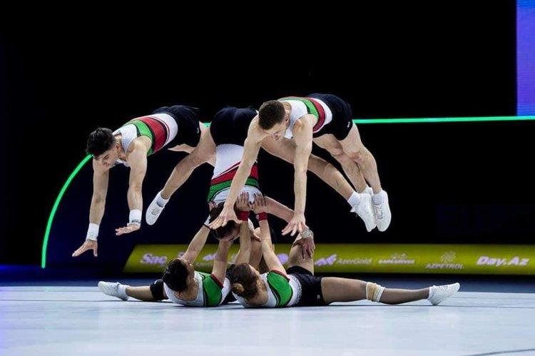 Българските национали първи в група на Европейското по ареобика в Баку
