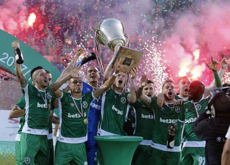 Лудогорец е шампион на България за осми пореден път