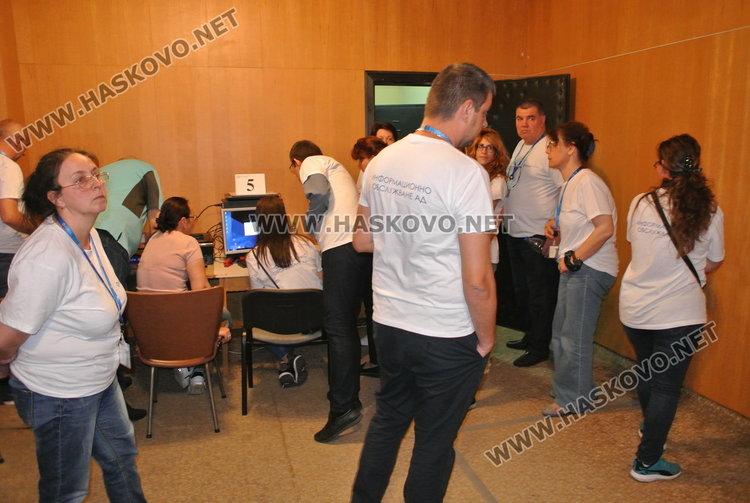 Затвориха секциите за избор на евродепутати в Хасковска област  в 20.44 ч.