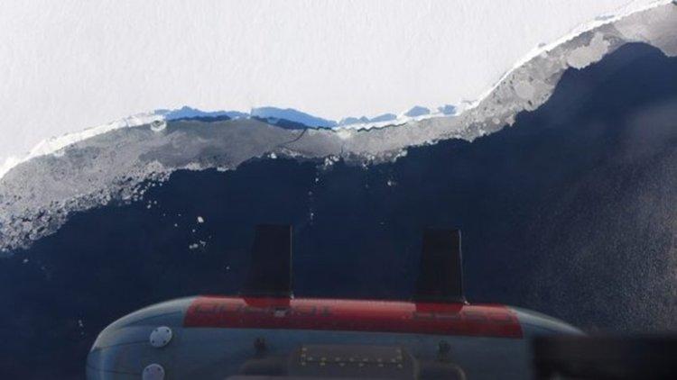IcePod край шелфовия ледник Рос