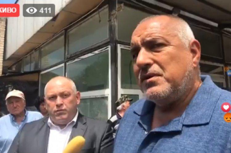 Борисов: Прехвърляме товарите от тировете на влакове. Имаме пълната подкрепа на Радев за F-16