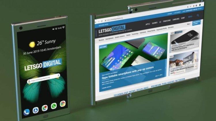 Samsung патентова невиждан смартфон (видео)