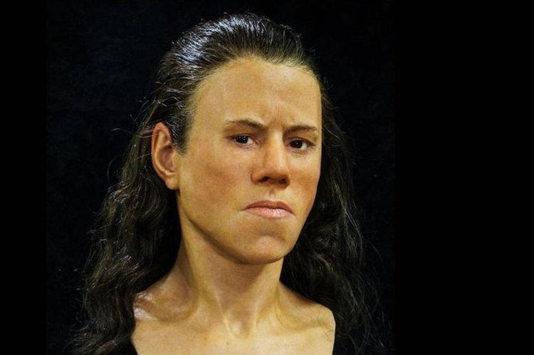Възстановиха лицето на тийнейджърка отпреди 9000 години