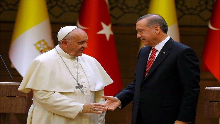 Ердоган на историческо посещение във Ватикана – основна тема ще е Ерусалим