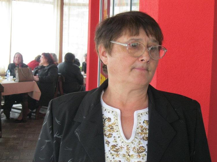 Теменужка Миткова, председател на Съюза на слепите в Смолян