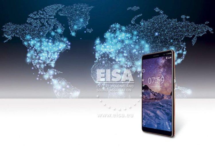 """Nokia 7 Plus с с награда """"Най-добър потребителски смартфон"""" на EISA 2018"""
